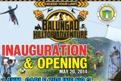 Inauguration and Opening of 1.4km Cable Zipline No. 2