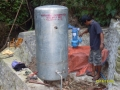Installation of Water System (2)