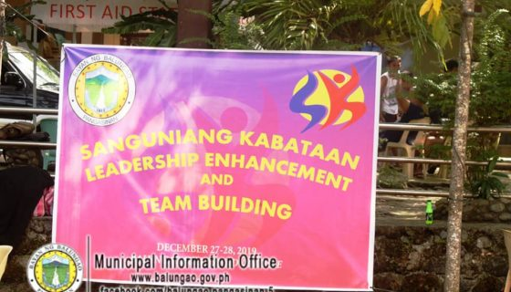 SK Federation of Balungao Team Building